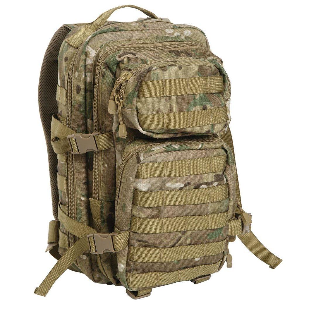 Reppu Mil-Tec US Assault pack 20l multitarn - Vaeltajankauppa 3f751e12f1