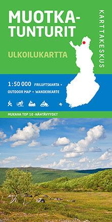 Muotkatunturit Ulkoilukartta 1 50 000 Vaeltajankauppa