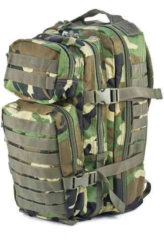 Reppu Mil-Tec US Assault pack 20l woodland