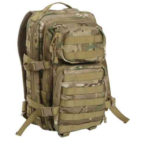 Reppu Mil-Tec US Assault pack 20l multitarn