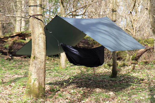 DD Hammocks SuperLight Tarp laavukangas