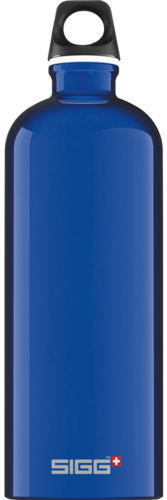 Sigg Traveller 1,0 dark blue juomapullo