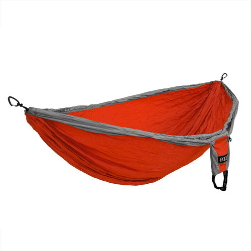 Eagles Nest Outfitters DoubleDeluxe riippumatto oranssi/harmaa