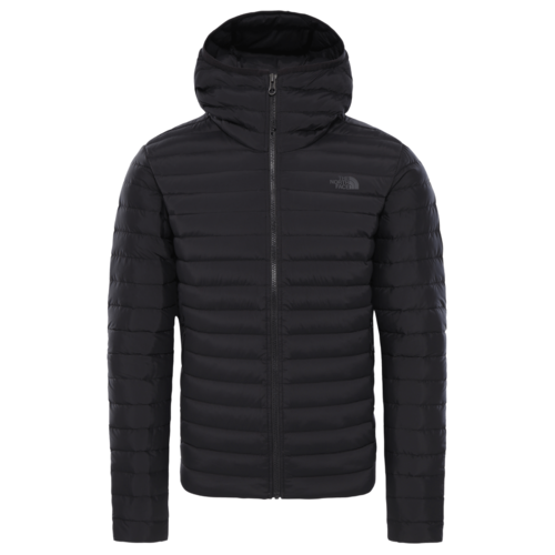 The North Face Stretch Down Hoodie miesten untuvatakki musta
