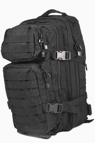Reppu Mil-Tec US Assault pack 20l musta