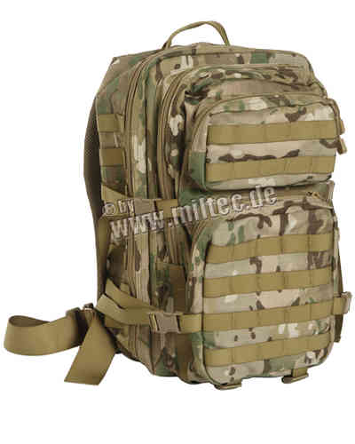 Reppu Mil-Tec US Assault pack 36l multitarn