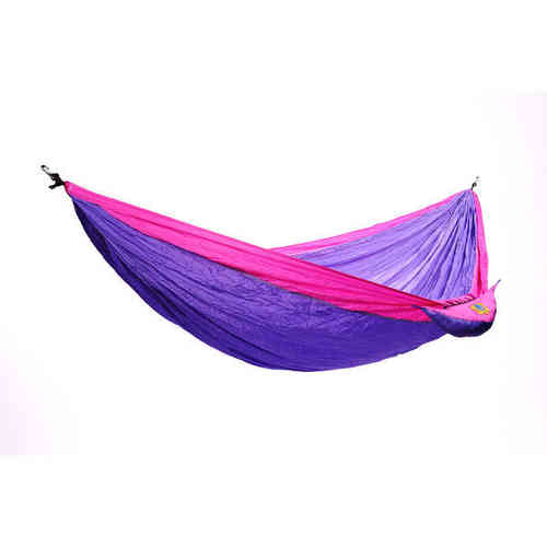 Ticket To The Moon Single Hammock lila-pinkki