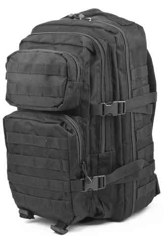 Reppu Mil-Tec US Assault pack 36l musta