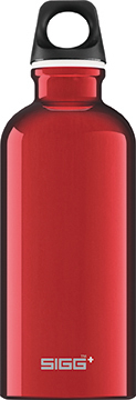 SIGG Traveller 0,6 red juomapullo