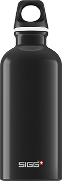 SIGG Traveller 0,6 black juomapullo