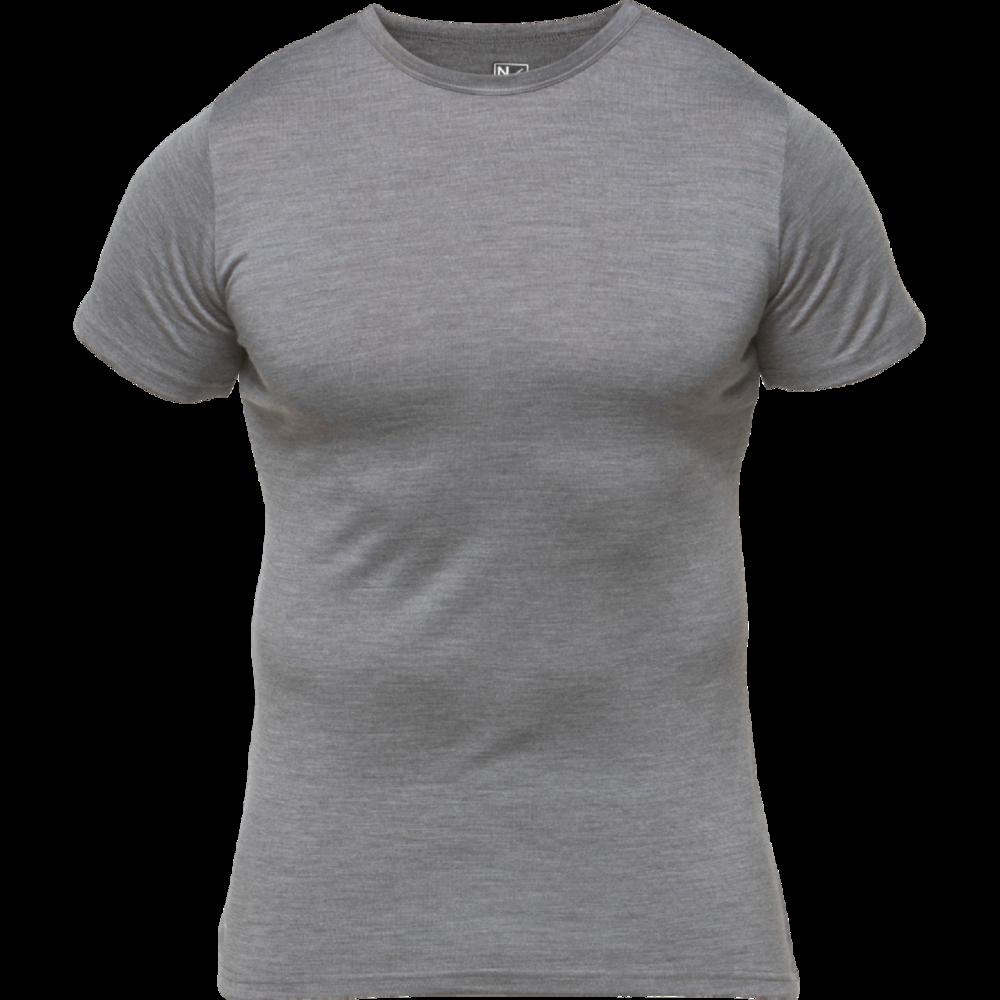 Miesten merino-bambu T-paita - North Outdoor - Vaeltajankauppa 533c430b03