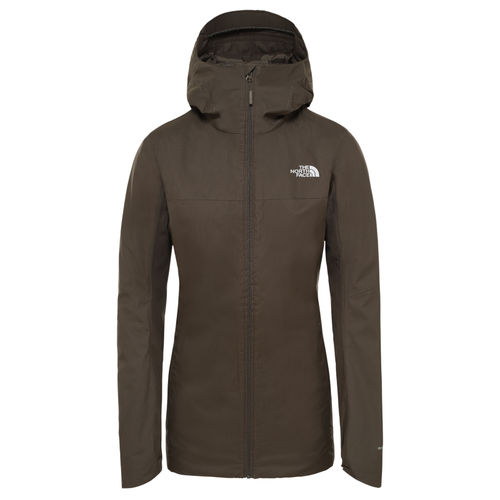 The North Face Quest Insulated naisten takki taupe green